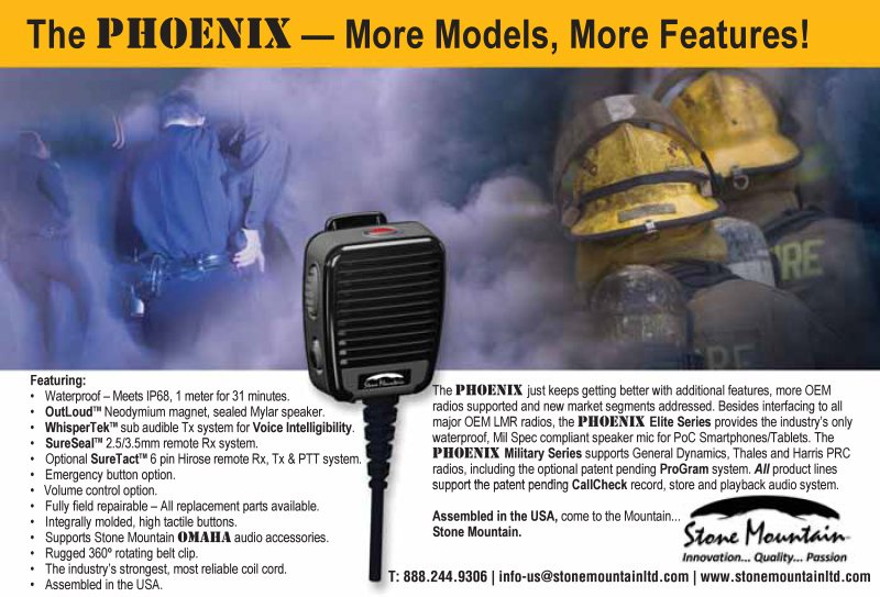 Phoenix Speaker Microphone with More Features